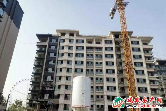 万城·中国院子   2021年4月工程进度播报